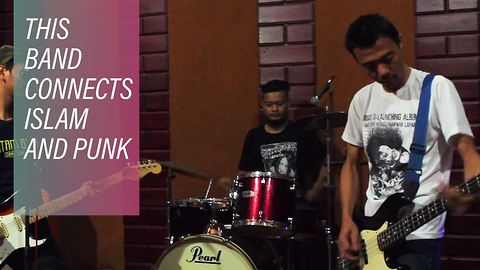 The punk band spreading the word of Islam in Indonesia
