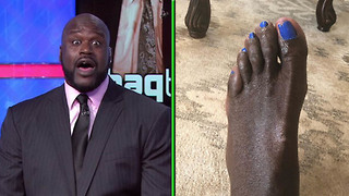 Shaq's Pedicured Feet Are the NASTIEST Sh!t You'll See All Day