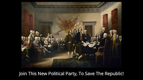Join This New Party To Save The Republic