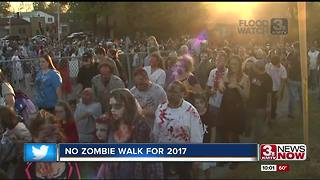 Zombie Walk cancellation stirs controversy - Video
