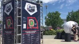 Baseball village and fan fest is open for business - Video
