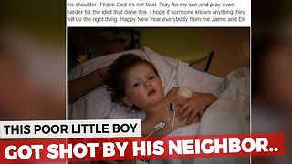 Dad Hears A Pop And Seconds Later His Son's Life Is In His Hands - Video