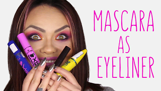 USE MASCARA AS AN EYELINER | beautyAnica - Video
