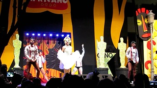 Drag Queen competition Marilyn Monroe and Freddie Mercury  - Video