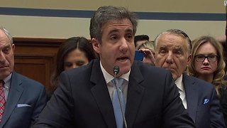 Michael Cohen Talked with Democrats About Topics of Hearing Beforehand