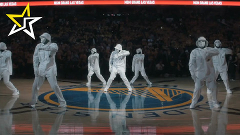 Hip-Hop Dance Crew Jabbawockeez Stuns Crowd At Halftime Of NBA Final's Game 5