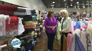 Ms. Cheap Shops the 50% off Sale at Textile Fabrics - Video