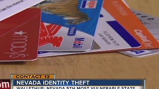 Nevada 5th most vulnerable state for identity theft - Video