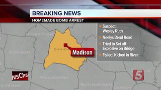 Man Accused Of Trying To Blow Up Madison Bridge - Video