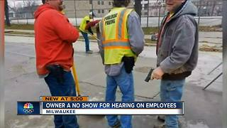 Owner of American Sewer Services a no show for city hearing - Video