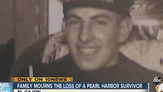 Family mourns loss of Pearl Harbor survivor - Video