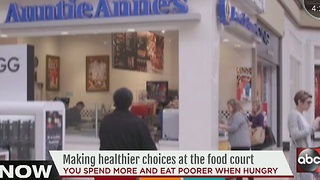 Making healthier choices at the food court - Video