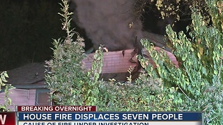 Family escapes from house fire in North Tulsa - Video
