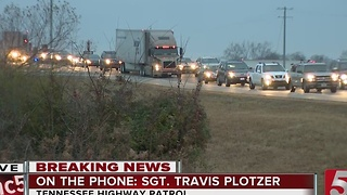 Chemical Spill Closes I-24 In Rutherford County - Video