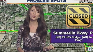 More Summerlin Parkway construction closures ahead - Video