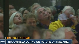 Hundreds show for input on proposed Broomfield fracking moratorium; decision still pending - Video