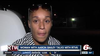 Woman inside car with Aaron Bailey during officer-involved shooting speaks out - Video