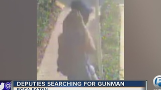Gunman on the run - Video
