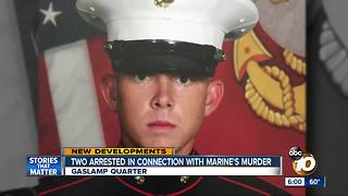 Two arrested in connection with gruesome death of a Camp Pendleton Marine - Video