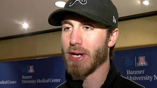RAW INTERVIEW: Jarred Tinordi, Craig Cunningham's teammate offers support - Video