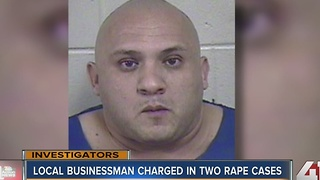 Former owner of El Patron charged with rape - Video