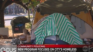 Baltimore city police create 'H.O.T.' team to help area's homeless - Video