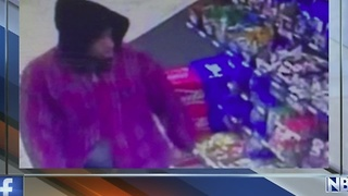 Police search for robber armed with screwdriver
