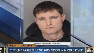 Baltimore City EMT arrested for 2015 arson in Middle River - Video