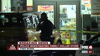 Police investigating robbery at Family Dollar store