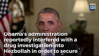 Iran-Contra Was Only 3 Percent the Size of Obama's New Hezbollah-Iran Scandal - Video