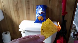 Doritos camping hack: Fire starter tips - Video