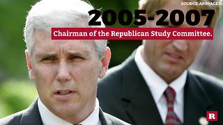 Mike Pence over the years | Rare Life - Video