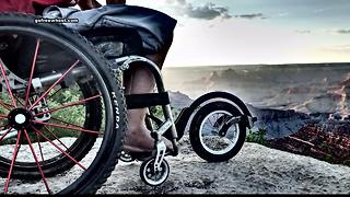 FreeWheel gives people in wheelchairs more freedom - Video