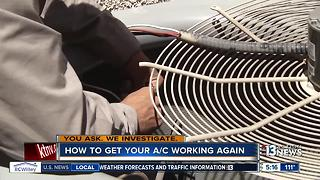 What to do if your air conditioner stops working - Video