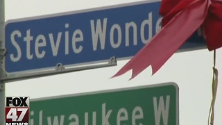 City of Detroit unveils Stevie Wonder Avenue