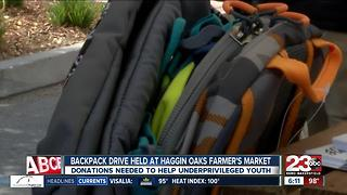 Apple Core holds backpack drive to help students in need