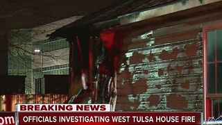 6 forced from home following west Tulsa fire - Video