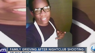 Family grieving after nightclub shooting - Video