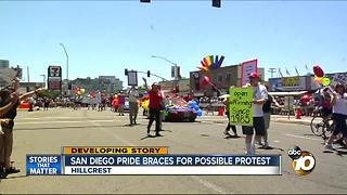 San Diego Pride braces for possible protest - Video