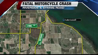 Fatal Motorcycle Crash in Canyon Co. - Video