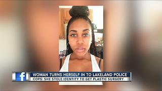 Woman who stole credit card to pay for new breasts, butt, and lips now in custody - Video