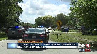 A Drive-By-Shooting Sends 1 to the Hospital - Video