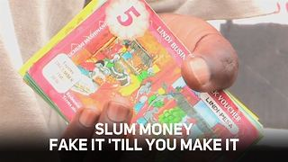 'Fake' money is breaking the poverty cycle - Video