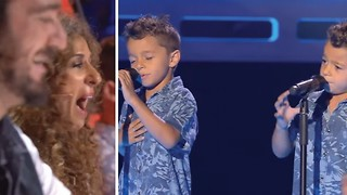 Twins, One Voice: Their Love Song Will Go CRACK The Jury! - Video