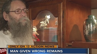 Grieving father given wrong remains - Video
