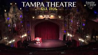 Tampa Theatre ranks among the most historic theatres in America - Video