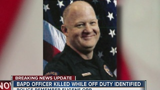 Police identify fallen Broken Arrow Police Officer killed in motorcycle crash while off duty. - Video
