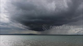 Impressive Storm Cell At Magilligan Point Caught On Video - Video