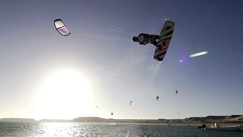15-year-old Kitesurfer Pulls Off Incredible Stunts