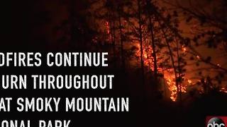 Evacuations in Gatlinburg due to wildfire - Video